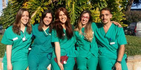 Veterinarios internos 2017