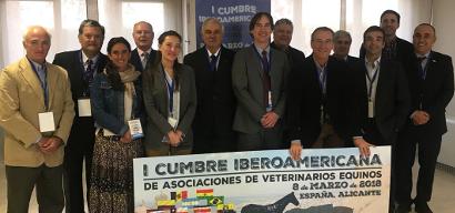 Cumbre iberoamericana veterinarios caballos