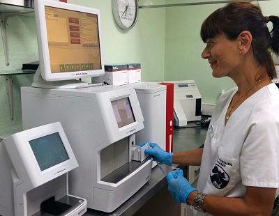 Laboratory hospital veterinary